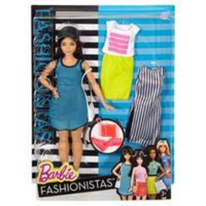 Barbie Fashionistas Curvy Dark-haired - 2846955899