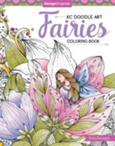 Kc Doodle Art Fairies Coloring Book - 2860484973