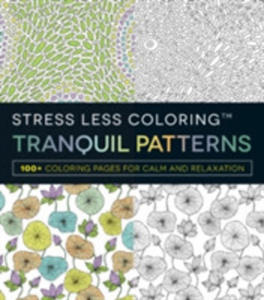 Stress Less Coloring Tranquil Patterns - 2841722434