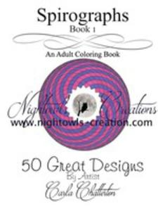 Spirographs - An Adult Coloring Book - 2871206646