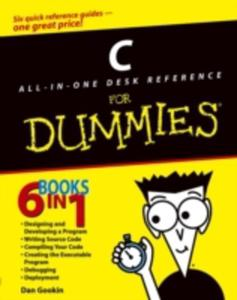 C All - In - One Desk Reference For Dummies - 2842818591