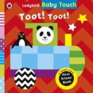 Baby Touch: Toot! Toot! A Fold-out Frieze Book - 2848641385