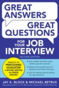 Great Answers, Great Questions For Your Job Interview - 2839953099