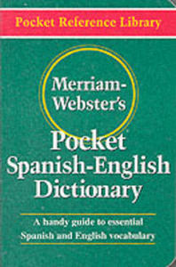 Merriam Webster's Pocket Spanish - English Dictionary - 2839892227
