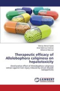 Therapeutic Efficacy Of Allolobophora Caliginosa On Hepatotoxicity - 2857258654