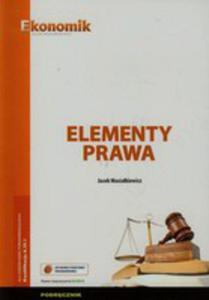 Elementy Prawa Podręcznik W.2015 Ekonomik - 2840232837