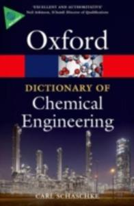 A Dictionary Of Chemical Engineering - 2839991324