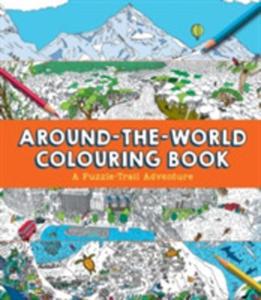 Around-the-world Colouring Book - 2860450736