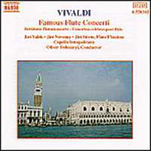Vivaldi: Famous Flute Concertos - 2839193206