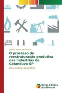 O Processo De Reestruturaç~ao Produtiva Nas Indústrias De Catanduva-sp - 2857264314