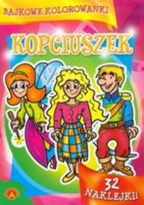 Bajkowe Kolorowanki Kopciuszek - 2839380226