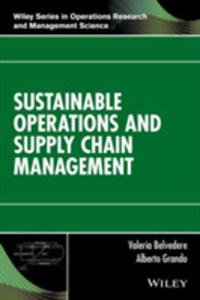 Sustainable Operations And Supply Chain Management - 2846948265