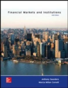Financial Markets And Institutions - 2840017156