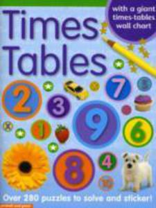 Times Tables Sticker Book - 2848179189