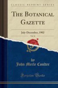 The Botanical Gazette, Vol. 34 - 2854724492