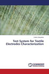 Test System For Textile Electrodes Characterization - 2857253730