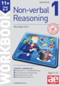 11 + Non - Verbal Reasoning Year 5 - 7 Workbook 1 - 2839987720