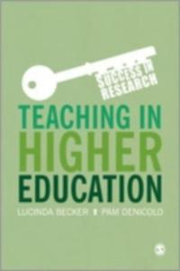 Teaching In Higher Education - 2849911833