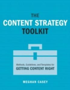 The Content Strategy Toolkit - 2846934419