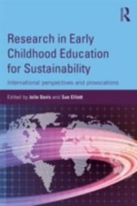 Research In Early Childhood Education For Sustainability - 2842828800
