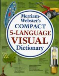 Merriam - Webster Compact Five - Language Visual Dictionary - 2839892226