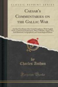 Caesar's Commentaries On The Gallic War - 2855201852