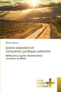 Justice Populaire Et Conscience Juridique Collective - 2857262171