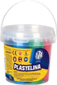 Plastelina Wiaderko 6 Kolorów Astra - 2842832637