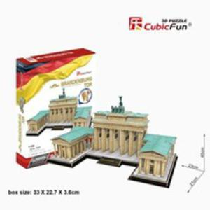 Puzzle 3d Brama Brandenburska - 2846059516