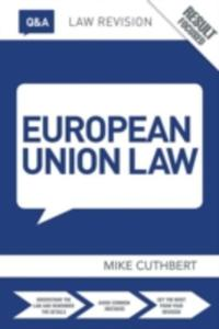 Q & A European Union Law - 2849919930