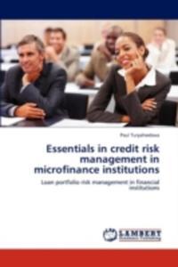 Essentials In Credit Risk Management In Microfinance Institutions - 2852833663