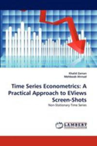 Time Series Econometrics - 2860267075