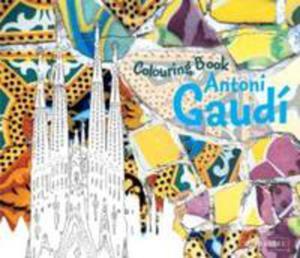Antoni Gaudi Colouring Book - 2870490428