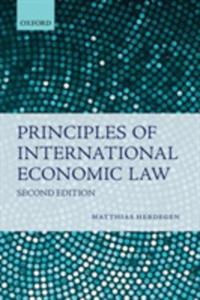 Principles Of International Economic Law - 2844457820