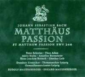 Bach, J.s./matth�us - Passion - 2839222549