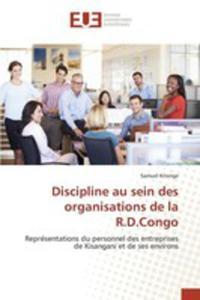 Discipline Au Sein Des Organisations De La R.d.congo - 2860720910