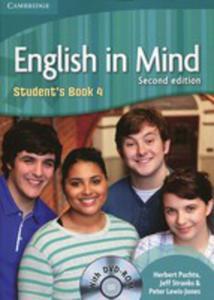 English In Mind 4 Student's Book Z Płytą Dvd - 2839291231
