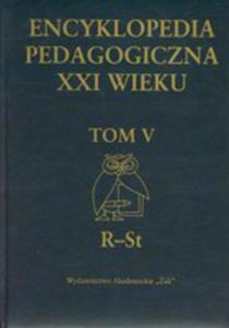 Encyklopedia Pedagogiczna XXI Wieku Tom 5 - 2846720771