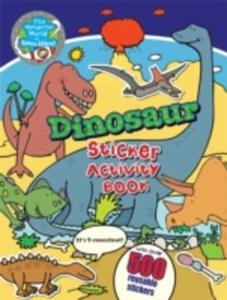 Dinosaur Sticker Activity Book - 2840161182