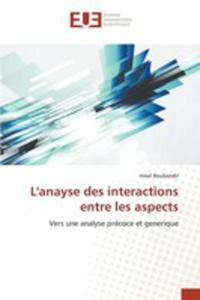 L'anayse Des Interactions Entre Les Aspects - 2854835239