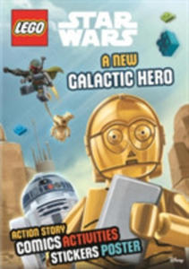 Lego Star Wars: A New Galactic Hero (Sticker Poster Book) - 2846076205