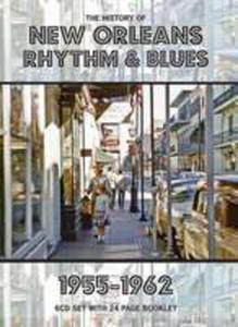 History Of New Orleans R & B 1955 - 62 / Różni Wykonawcy (Uk) - 2840053881