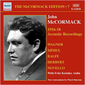 Mccormack Edition 7 - Acoustic Recordings 1916 - 18 - 2839243705