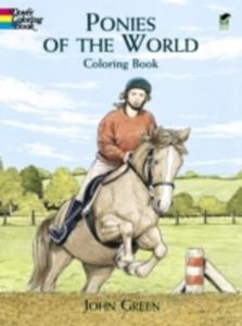Ponies Of The World Colouring Book - 2860015476