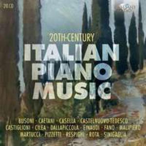 20th Century Italian Piano Music - 2841503647