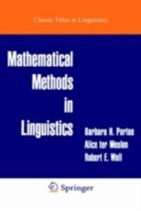 Mathematical Methods In Linguistics - 2845341973