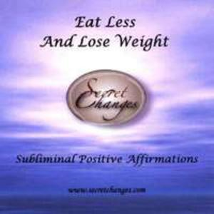 Subliminal Affirmations Eat Less & Lose Weight - 2855090204