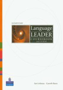 Language Leader Elementary - Coursebook Plus Cd-rom [Ksi��ka Ucznia Plus Cd-rom] - 2839265902