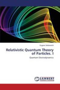 Relativistic Quantum Theory Of Particles. I - 2857253862