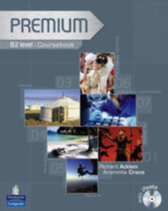 Premium B2 - Coursebook Plus Exam Reviser Plus Itest Cd-rom [Książka Ucznia Plus Exam Reviser Plus Itest Cd-rom] - 2839266008